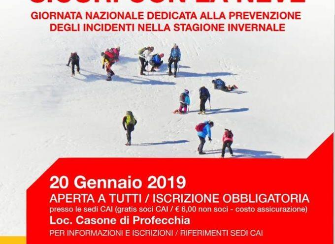 giornata dedicata alla prevenzione degli incidenti nella stagione invernale