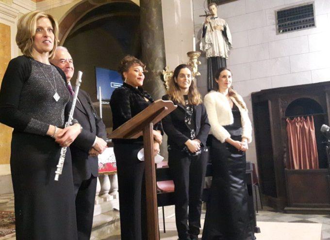 Nella chiesa di s.Ilario a Oneta oggi si è tenuto un concerto, in onore della statua restaurata di s.Lucia,