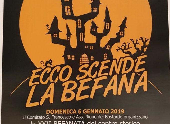 Domenica dalle ore 16 vi aspettiamo in Piazza San Francesco per la classica discesa della Befana.