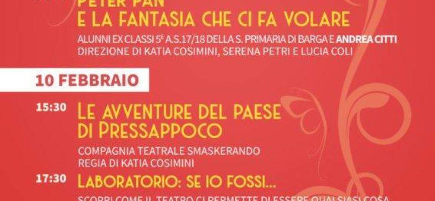 La Piccola Rassegna!! al  Teatro dei Differenti a Barga..