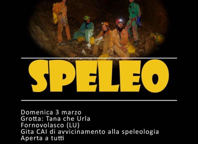 Domenica 3 marzo corso di  speleogita, alla Tana che urla con lo Speleoclub Garfagnana