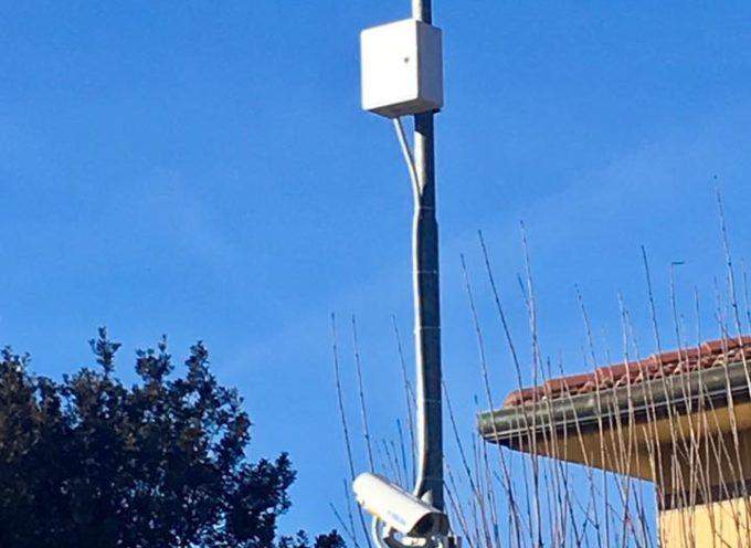 Installata la terza telecamera per sorvegliare gli accessi nel nostro Comune, a Monsagrati.