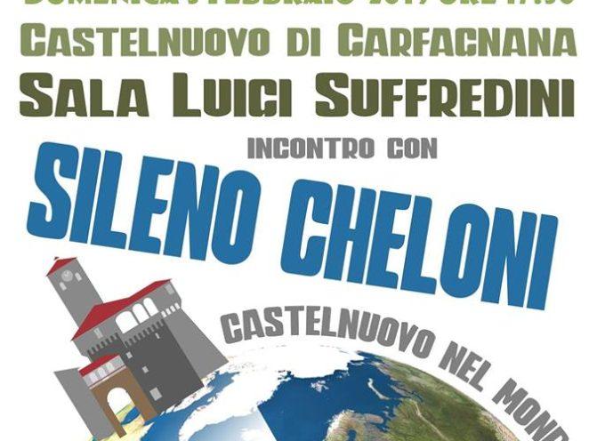 """Terzo incontro per """"Castelnuovo nel Mondo"""" – con SILENO CHELONI"""