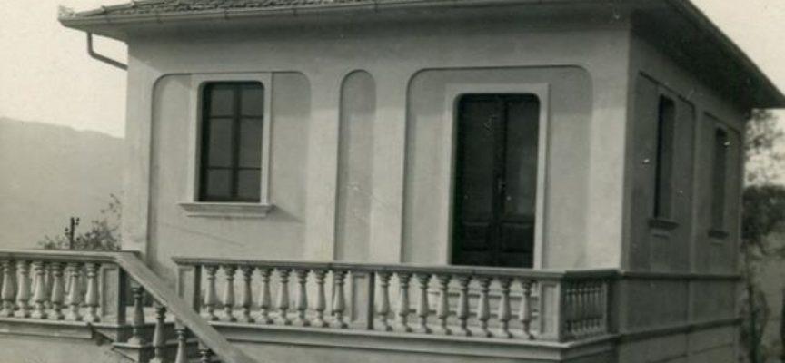 """Vecchie foto di Oneta. la scuola elementare """"rurale"""" di Oneta, realizzata nel 1930."""