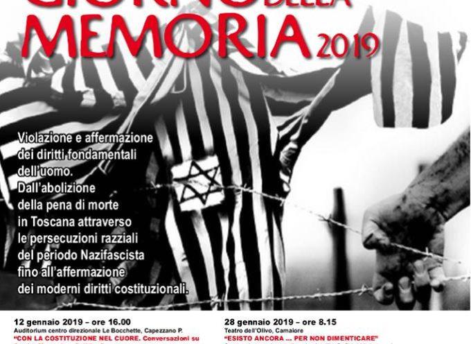 CAMAIORE – Le celebrazioni del Giorno della Memoria 2019