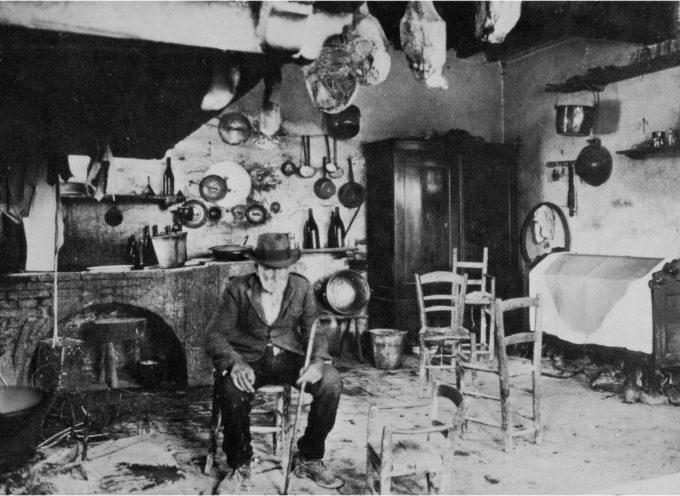 La vecchia cucina fumosa…