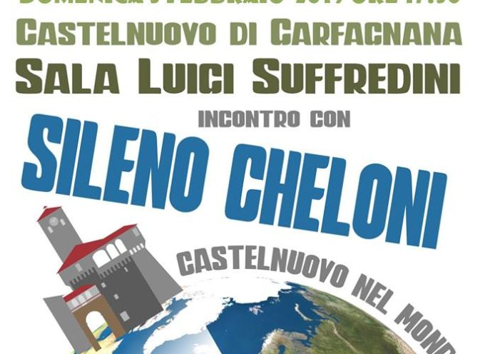 CASTELNUOVO NEL MONDO Domenica 3 febbraio alle ore 17.30 sarà la volta di SILENO CHELONI.
