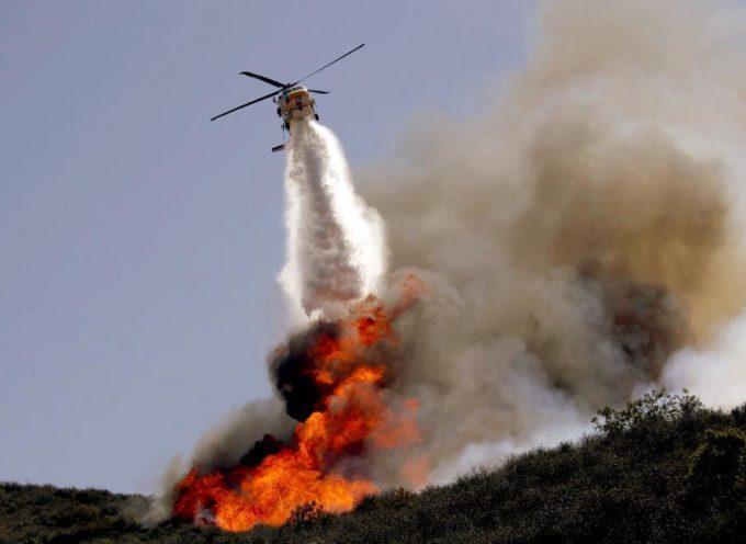 Per Maurizio Scarpelli, pilota di elicottero del Servizio Antincendi Boschivi che operava per la Regione Toscana nel nostro territorio