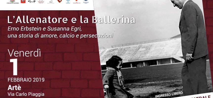AL CINEMA ARTE – LO SPETTACOLO L'ALLENATORE E LA BALLERINA