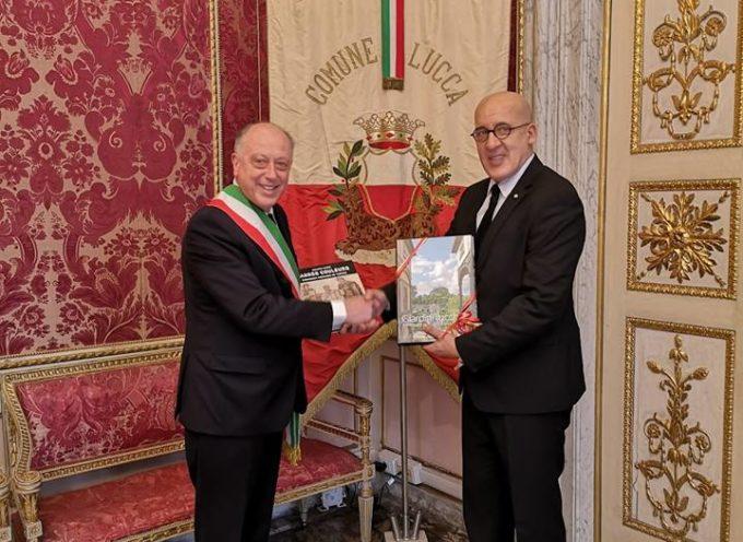 L'ambasciatore di Tunisia in Italia Moez Sinaoui è stato ricevuto dal sindaco Alessandro Tambellini