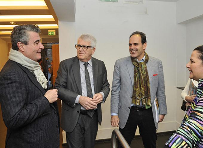FBML LUCCA: Il senatore Andrea Marcucci e il consigliere regionale Stefano Baccelli in visita alla mostra