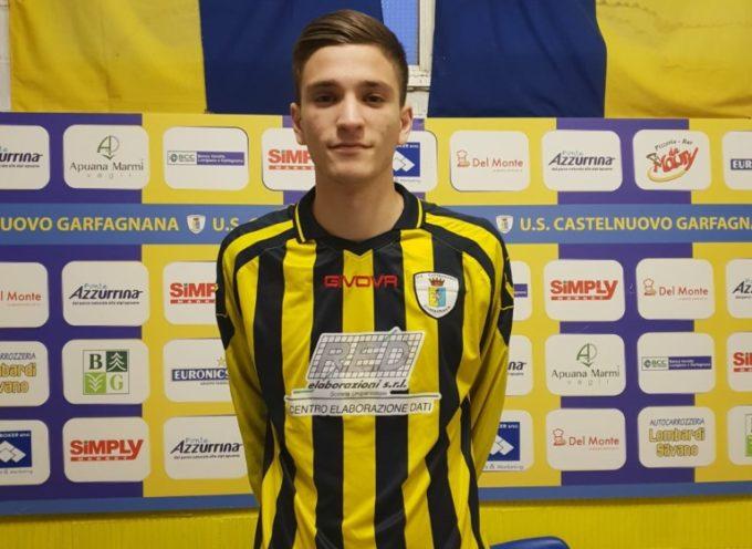 Il Castelnuovo prende il giovane centrocampista Paolo Galletti
