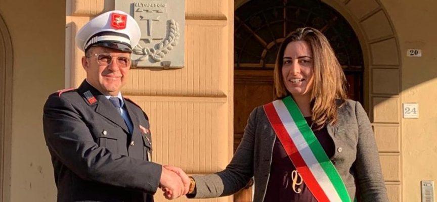 Italo Pellegrini nuovo comandante dei Vigili di Altopascio