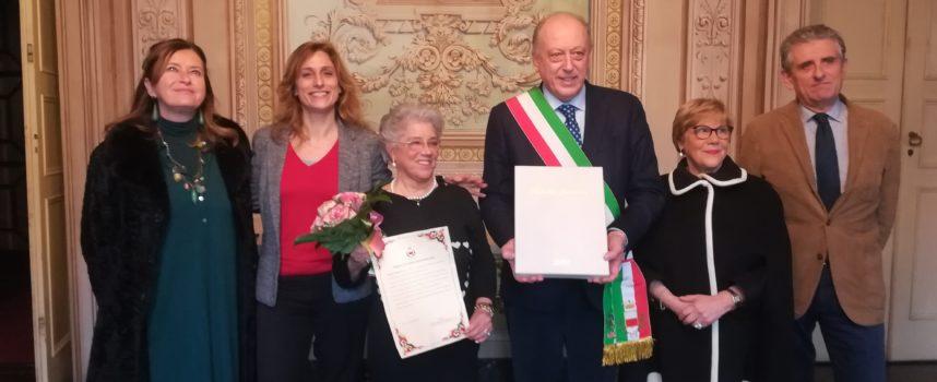 """Il sindaco riceve Giuseppina Micheletti per la consegna del riconoscimento """"Lucchese dell'anno 2018"""""""