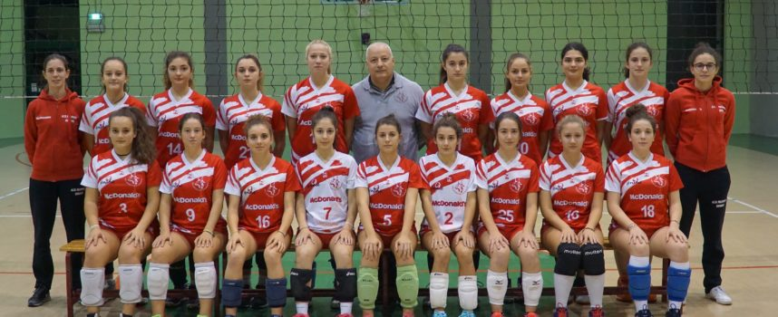 pallavolo under 18 femminile la Polisportiva Volley Capannori è sconfitta in casa
