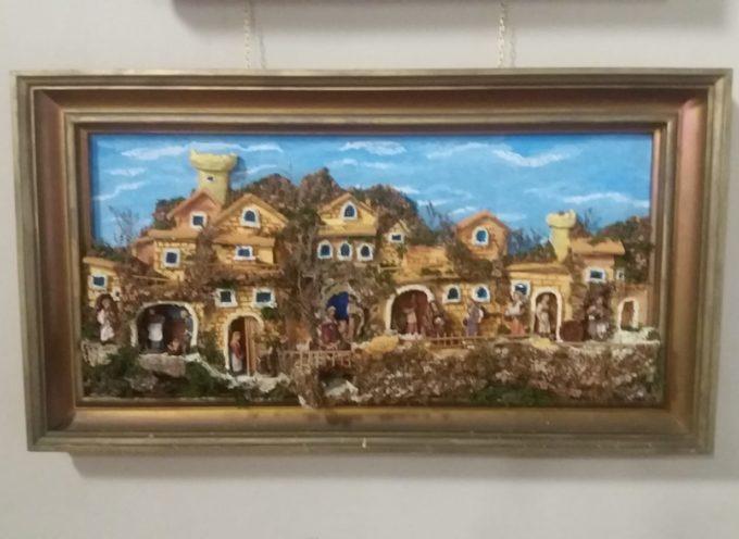 Esposto a Palazzo Santini il presepe in sughero di Giovanni Discolo
