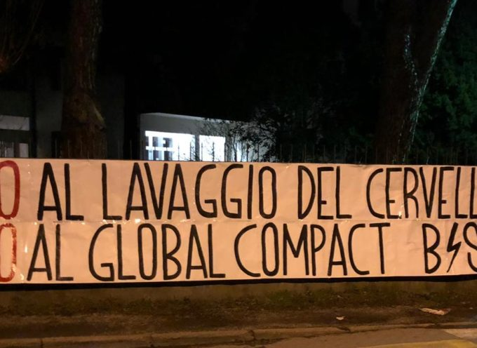Raccolta firme per Global Compact, interviene il Blocco Studentesco