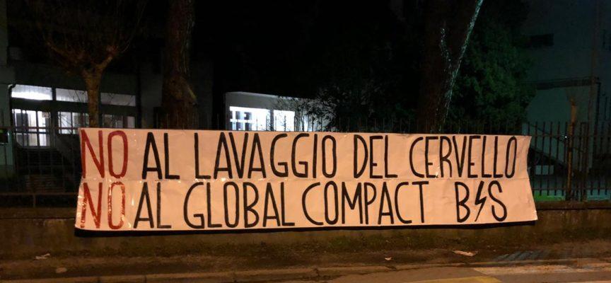 Raccolta firme per Global Compact, interviene il Blocco Studentesco