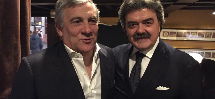 Forza Italia, Antonio Tajani domenica in Toscana  Mallegni e Marchetti (FI): «Saremo a Lucca, Massa Carrara e Versilia»