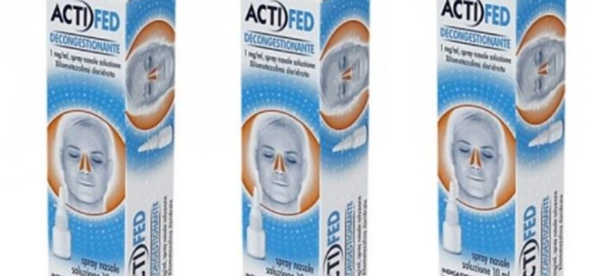 Ritiro famoso spray nasale decongestionante: