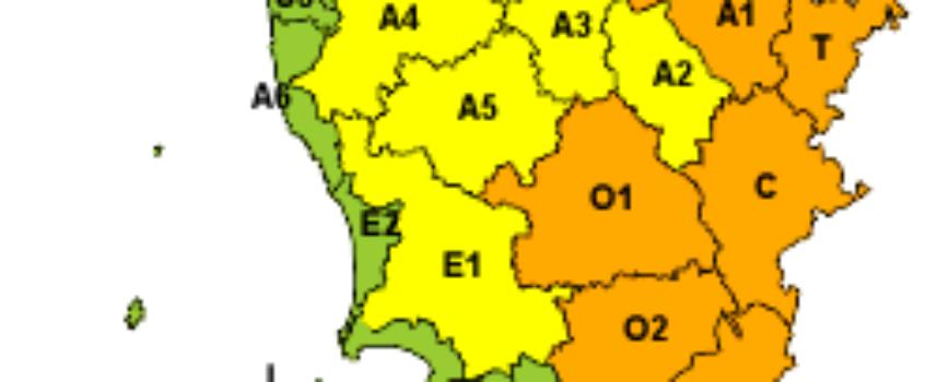 Codice arancione per neve su gran parte della Toscana