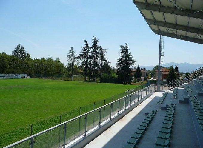 Stadio di Marlia, sono pronti gli spogliatoi.