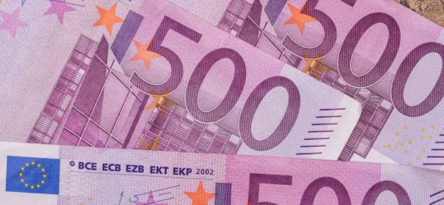 Addio alle banconote da 500 euro dal 27 gennaio 2019