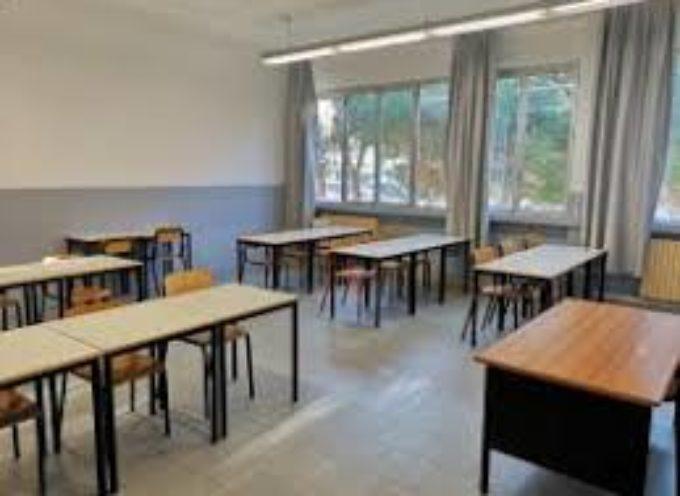 VIAREGGIO – PRONTI GLI SPAZI RIQUALIFICATI CHE DA LUNEDI' 7 GENNAIO OSPITERANNO IN VIA TRANSITORIA DOCENTI E STUDENTI DELL'EX COLOMBO