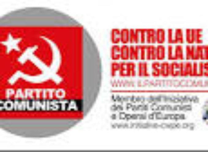 Partito Comunista: pieno sostegno al Sindacato FIALS per la raccolta firme