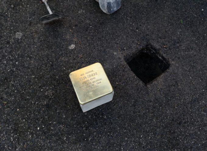 posizionata la prima pietra d'inciampo a Lucca