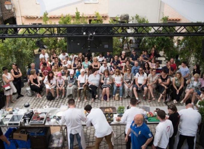 un festival dedicato all'alta cucina, alleanza gustosa Pietrasanta-Mougins (Costa Azzurra)