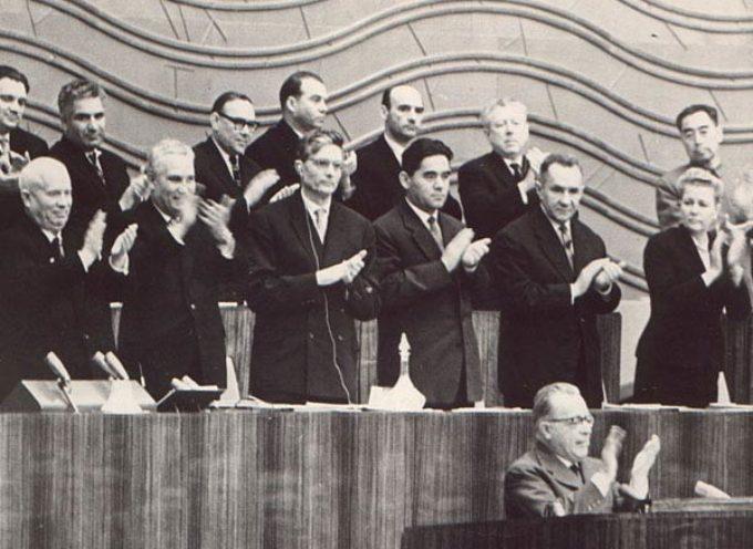 Accadde Oggi, 26 Febbraio: il XX Congresso del PCUS e la denuncia shock di Chruscev della tragedia staliniana