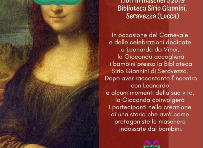 Biblioteca: la Monna Lisa di Leonardo da Vinci per festeggiare il giovedì grasso