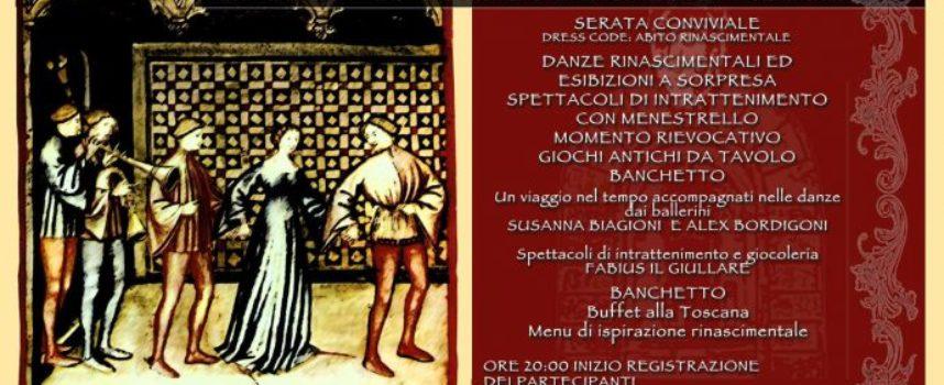 """SERAVEZZA – Palazzo Mediceo ospita sabato 2 marzo la """"Grande festa alla corte dei Medici"""""""