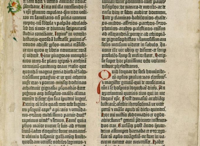 Accadde Oggi, 23 Febbraio 1455, il primo libro stampato al mondo, la Bibbia di Gutenberg