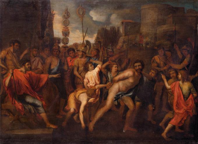 Nell'Antica Roma, 24 Febbraio: Regifugum o Fugalia, la fuga del Rex con la caduta della monarchia nel 509, a.C.