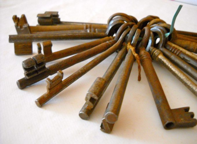 Le vecchie cose: le chiavi di una volta.