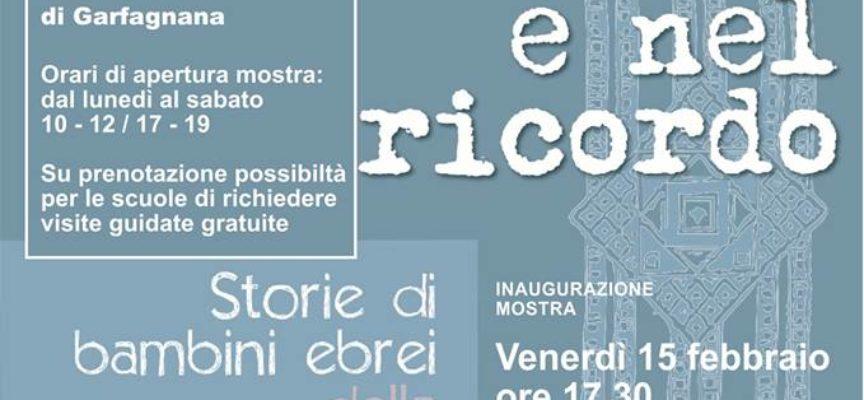"""""""Nel vento e nel ricordo: storie di bambini ebrei della Shoah in provincia di Lucca"""""""