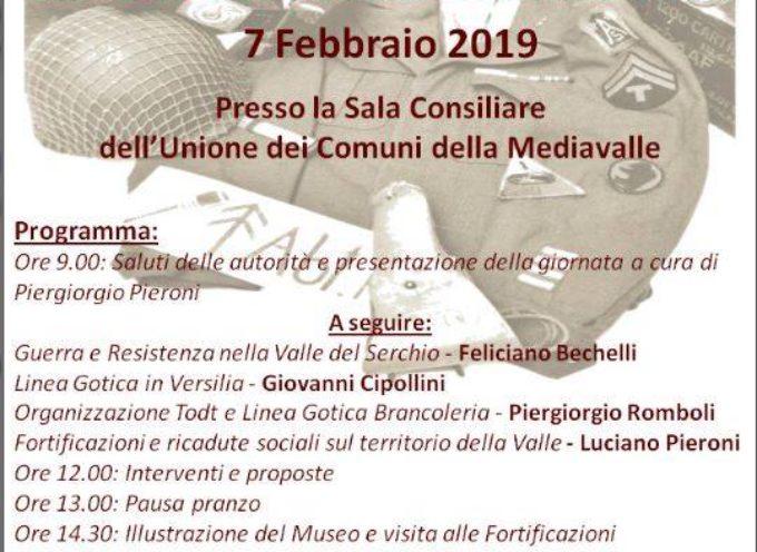 Giornata di studio della Linea Gotica settore Valle del Serchio e Versilia, a  Borgo a Mozzano.