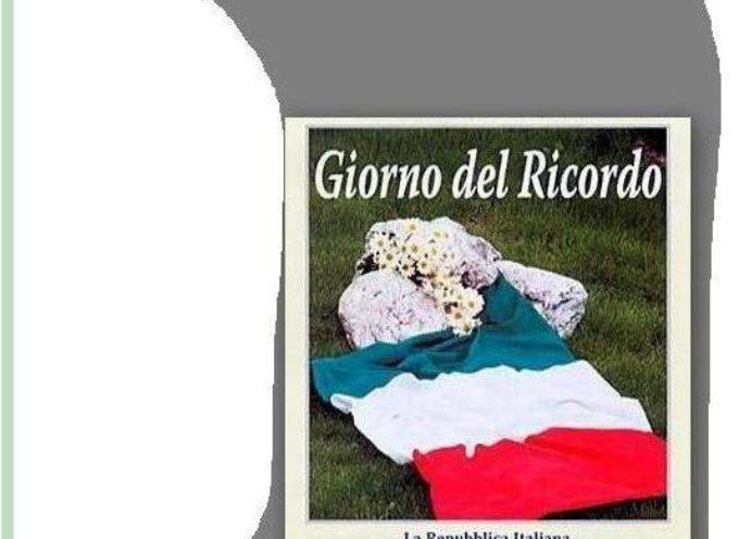 Giorno del Ricordo!! l'omaggio della comunità Borghigiana alle Vittime delle Foibe.. Borgo a Mozzano..