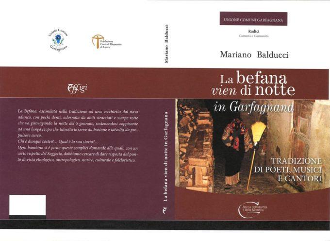 """AL TEATRO ALFIERI – ci sarà la presentazione del libro scritto dal nostro paesano Mariano Balducci dal titolo """" La Befana vien di Notte"""","""