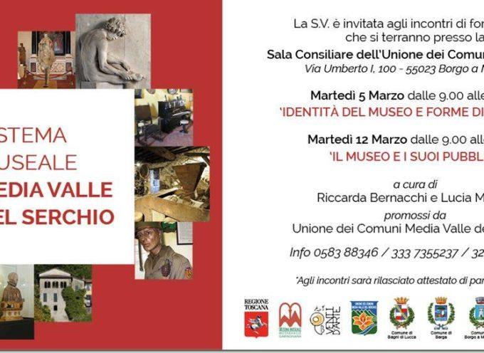 """Stiamo promuovendo 2 giornate formative sul """"Sistema Museale Media Valle del Serchio"""""""