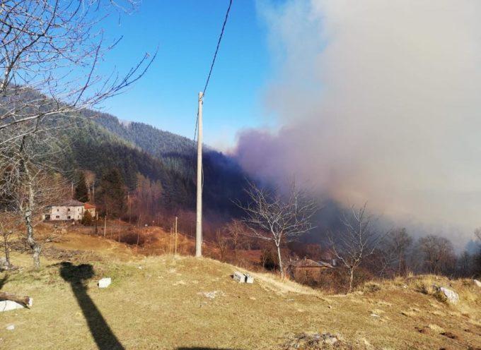 Ci risiamo  ieri  ancora un incendio di vaste dimensioni colpisce la comunita di Careggine