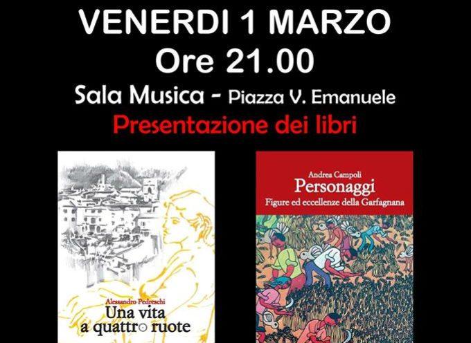 a Castiglione di Garfagnana, presentazione di due libri di scrittori locali