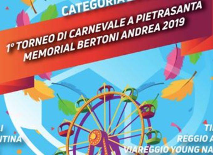 Sport: mezza serie A al primo torneo di Carnevale di Pietrasanta