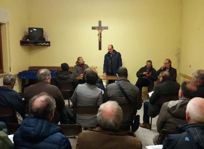 Canalette irrigue, tante persone all'incontro pubblico a San Colombano
