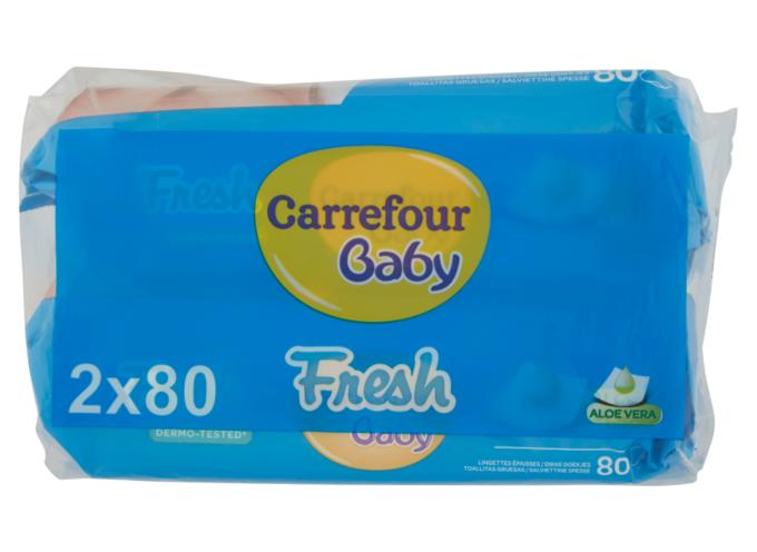 C'è il batterio del genere Burkholderia nelle salviette per bambini: Carrefour dispone ritiro dai supermercati di un lotto specifico