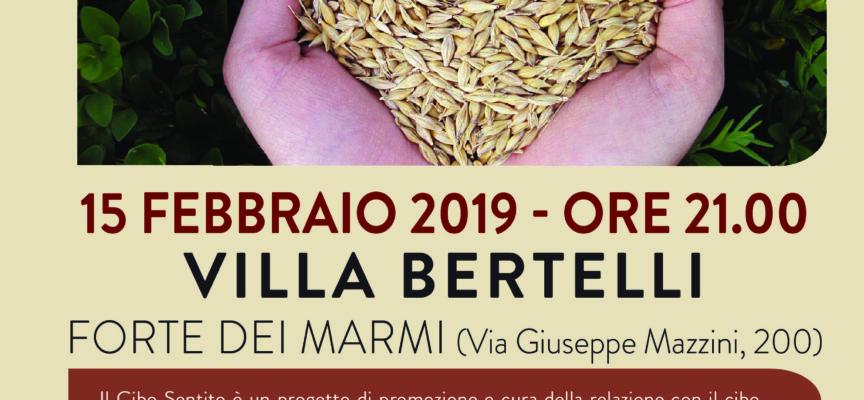"""""""Il cibo sentito"""". Un viaggio alla scoperta del sentire, a Villa Bertelli"""
