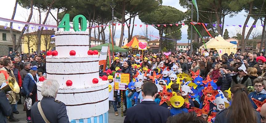La festa dei bambini al Carnovale Porcarese