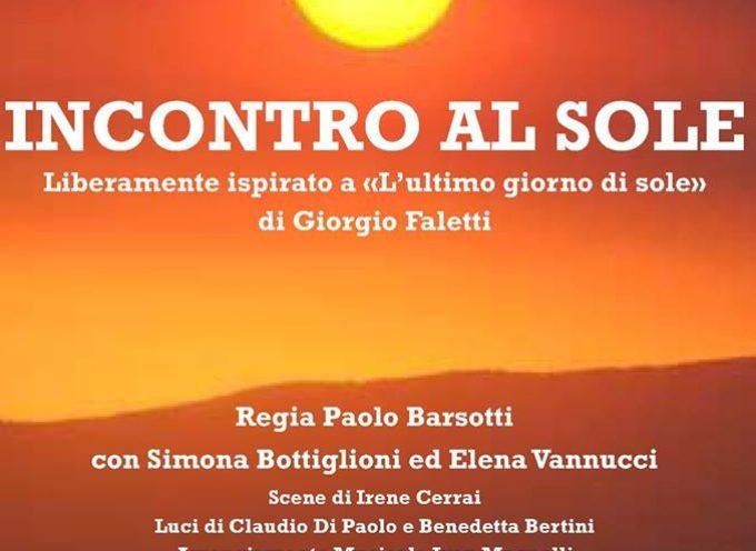 uno spettacolo da non perdere all'Auditorium Porcari! lo spettacolo INCONTRO AL SOLE